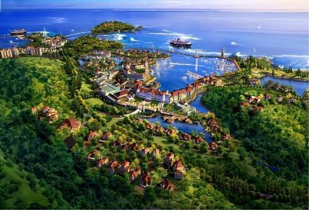 国外海洋主题小镇